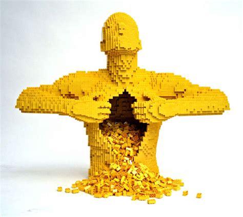 Good Kitchen Knives Set Nathan Sawaya Lego Brick Artist The Gadgeteer