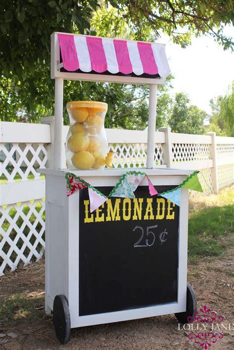 diy lemonade stand diy lemonade stand
