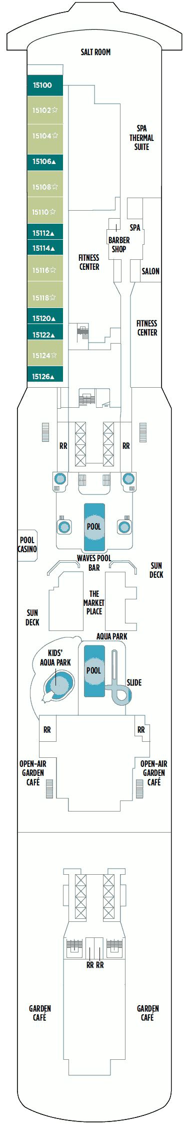 norwegian breakaway floor plan norwegian breakaway deck plans