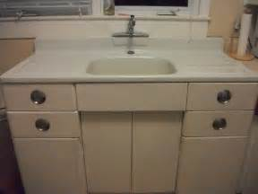 Vintage Metal Kitchen Cabinets Metal Kitchen Cabinet And Porcelain Sink For Sale Antiques Classifieds