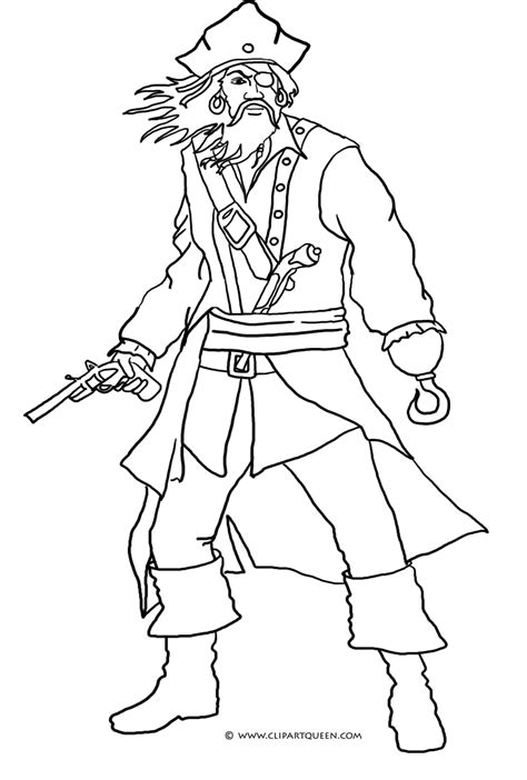 Pirate Coloring Pages Pirate Coloring Pages Coloringpages1001