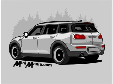 Mini Cooper Tshirt mini cooper t shirt grey f54 clubman on grey shirt