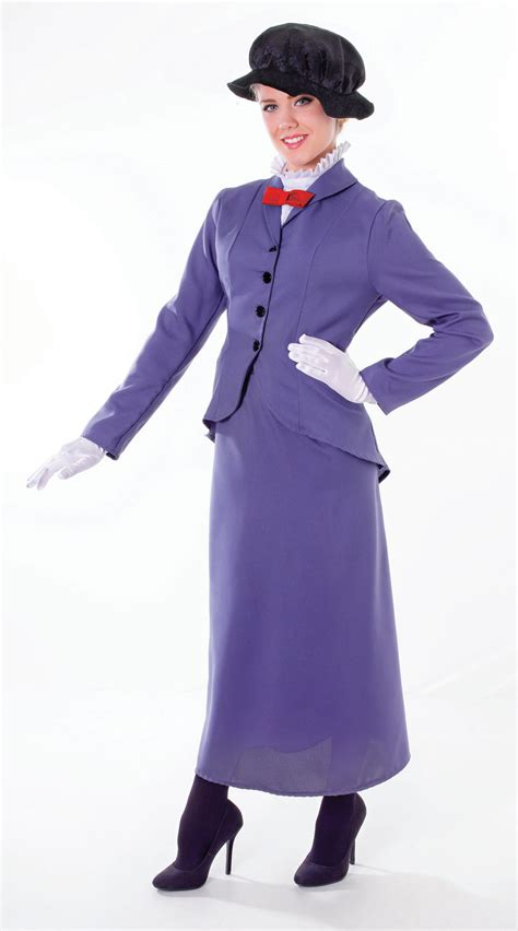 book themed clothing uk womens mary poppins fancy dress costume victorian nanny