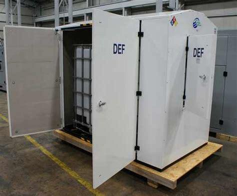 Diesel Exhaust Fluid Shelf by Def Storage System Diesel Exhaust Fluid Urea