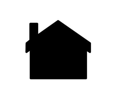 silhouette house silouette house clipart clipartfest