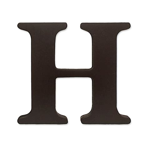 The Little Store Of Home Decor kidsline espresso wooden letter quot h quot bed bath amp beyond