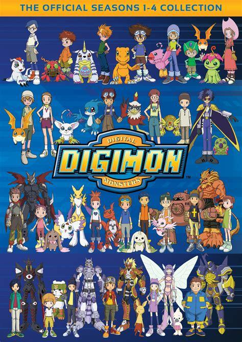 best digimon season digimon collection seasons 1 4 flatiron company