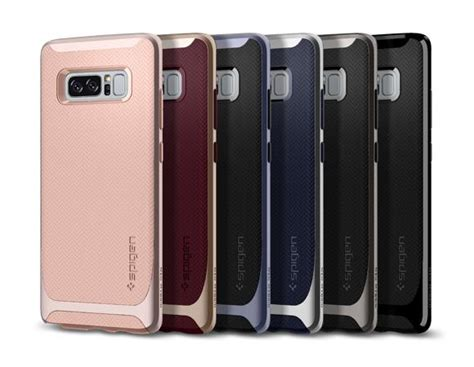 Samsung Galaxy Note 8 Neo Hybrid Black Soft Tpu spigen neo hybrid for samsung galaxy note 8 gadgets finder