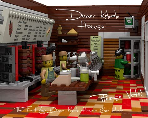 kebab house lego ideas lego doner kebab house restaurant