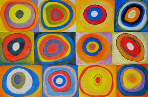 Home Design Store Seattle by Farbstudie Quadrate After Kandinsky Artwork Other
