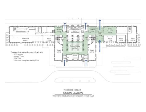 union station floor plan historic station reuse denver union station redevelopment