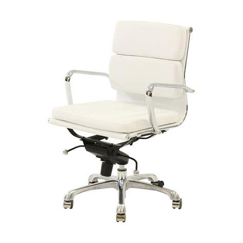 kontor low back desk chair marconi white low back desk chair el dorado furniture