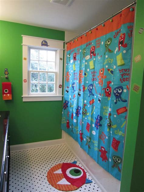 Boy Bathroom Shower Curtains by Best 25 Bathroom Curtain Set Ideas On