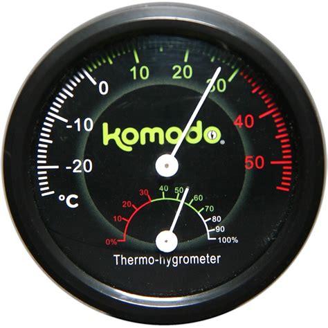 Termometer Dan Hygrometer Analog kombinerad termometer och hygrometer f 246 r reptiler