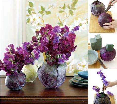 Unique Vases For Centerpieces by Unique Diy Cabbage Vase Centerpieces Budget Brides Guide