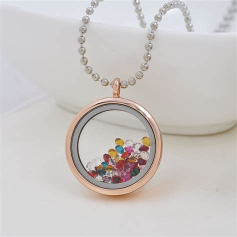 real gold plated magnetic glass 316l stainless steel