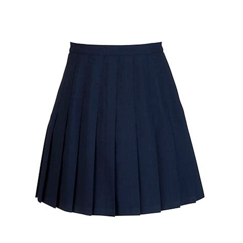 buy the mountbatten school skirt navy lewis