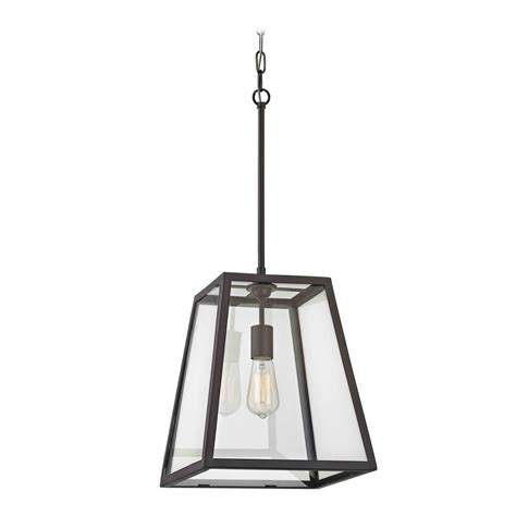 Country Bronze Mini Pendant Light With Square Shade 1168 Square Pendant Light