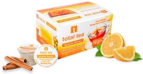 Total Tea Gentle Detox Tea 25 Sealed Teabags by Seller Profile Total Tea