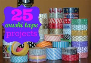 uses of washi tape 25 uses for washi tape and a giveaway projects include