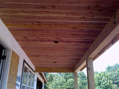 Outdoor Wood Ceiling Planks 39 Awesome Cedar Planks On Ceiling Images Wood Ceiling