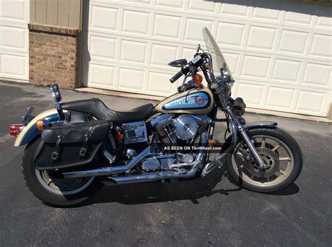 Daytona Harley Black 1992 dyna daytona fxdb