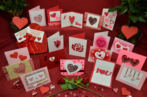 Handmade Gifts Ideas For Valentines Day - top 10 ideas for s day cards creative pop up cards