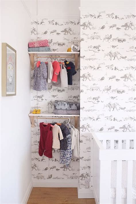 Nursery Wardrobe With Shelves by 17 Best Ideas About Nursery Shelving On