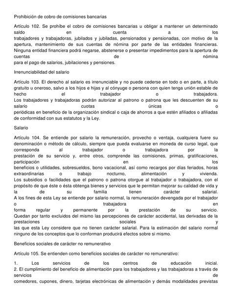 ley organica del trabajo 2016 pdf ley organica del trabajo vigente en venezuela 2016 ley