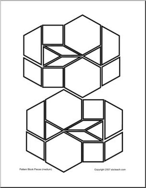 pattern blocks definition pattern blocks medium b w use these pattern blocks to