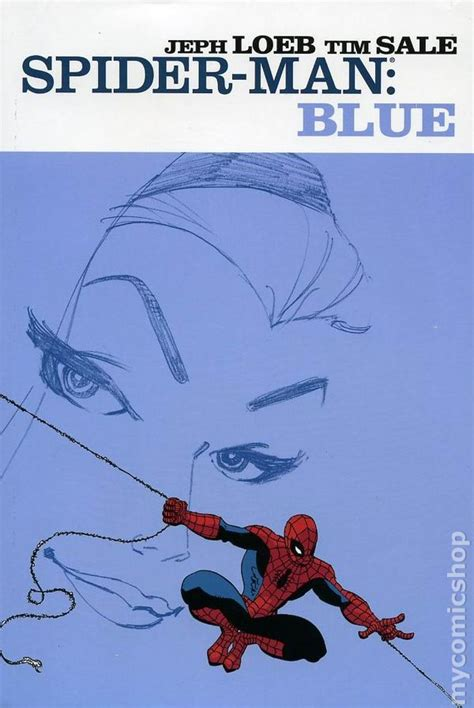 spider man blue hc amazing spider man blue hc 2003 marvel 1st edition comic books