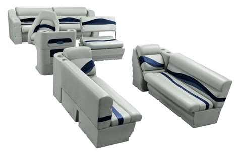 pontoon upholstery wise premier pontoon traditional full boat seat group