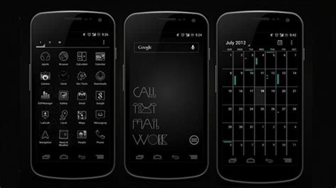 android themes black and white save battery life in style with this awesome black on