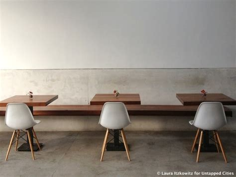 cafe bench menu top 10 coffee shops in brooklyn for design buffs