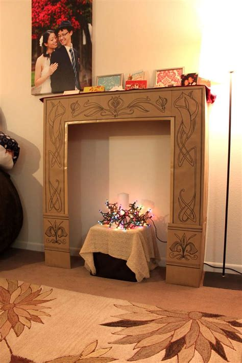 cardboard fireplace diy 17 best images about card board on diy