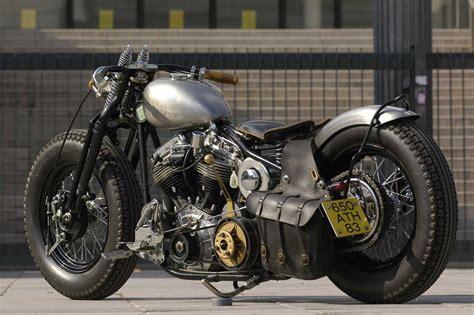 Harley Davidson Set Steel hardtailed custom harley davidson with a great open