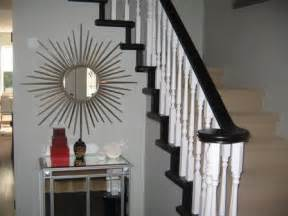 painting staining stair banister house home quot so