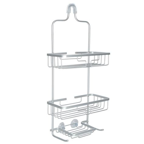 Tension Pole Shower Caddy Rust Proof Titan Neverrust Bathroom Shower Caddy Rust Proof