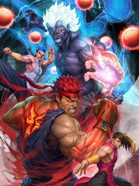 Bor Ryu evil ryu ryuu fighter zerochan anime image board