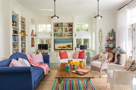 colorful family rooms photo page hgtv
