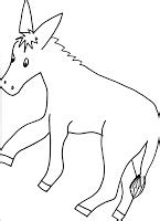 donkey ears coloring page my little bookcase make your own winky wonky donkey