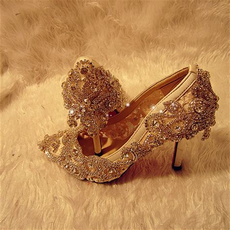 Handmade Bridal Shoes - 2015 new beautiful handmade wedding shoes luxury