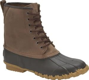 browning s 10 inch leather top rubber shell boot br8002