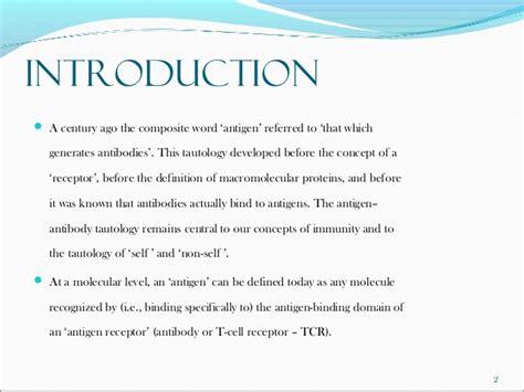 advanced immunology antigen processing