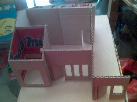 cara membuat mainan dari kertas kardus cara membuat kreasi rumah unik dari kardus bekas
