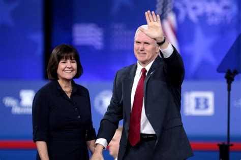 mike pence wife hello christian karen pence is the prayer warrior behind