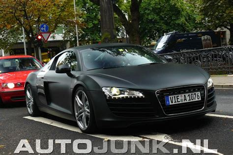 audi r8 matte black spotted audi r8 in matte black in germany por homme