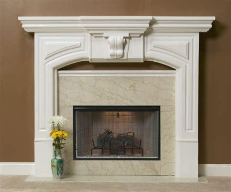 Plaster Fireplace Mantels by A Plus Inc Estate Series Plaster Mantels