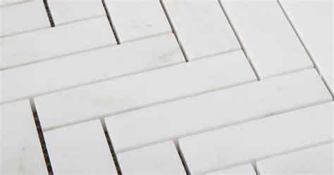 white marble herringbone mosaic centurymosaic china marble factory
