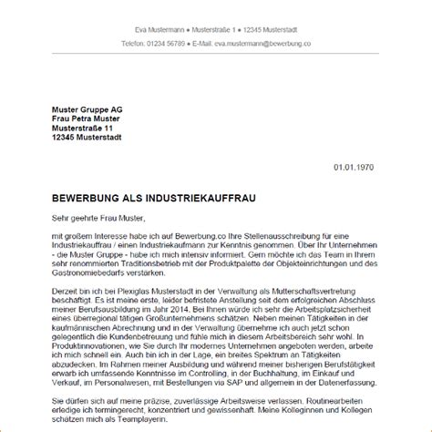 9 bewerbungsschreiben industriekaufmann deckblatt bewerbung